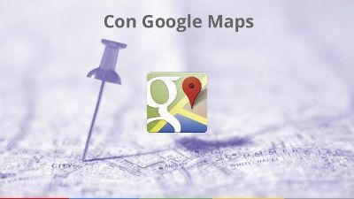 Comercio electróncio en Google Maps. Venta online y geolocalizacion en Ecommerce
