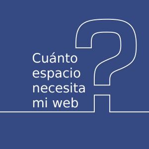Cuanto espacio necesita mi web en WordPress